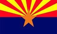 Arizona flag - - 2ft x 3ft - - 2x3 foot State of Arizona flag ()