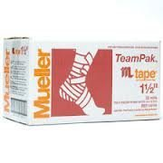 Mueller MTape 1.5 inch (value 32 pack) (Gold) by Mueller