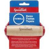 Speedball Art Products SB4142 4-Inch Round Handle Baron, Red