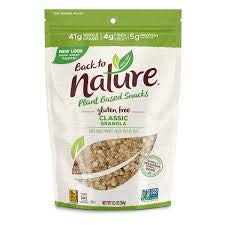 Back to Nature Gluten-Free Classic Granola 12.5 oz ( 2 Pack)