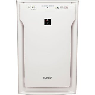 Sharp® 254 CFM HEPA 3 Speed Air Purifier With Plasmacluster® Ion Technology; White