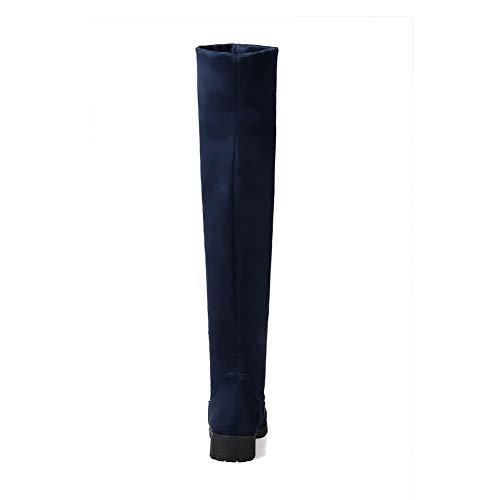 Abl11014 Bleu Balamasa Sandales 5 Femme 36 Compensées Foncé OxxZFfd