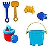 Creatif Ventures Plastic Super Summer Beach Toy Set with Mini Sprinkler (Random Colour)