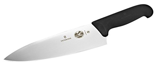 Victorinox Fibrox Straight Edge 8 Inch Chef's Knife
