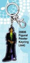Monogram International Jonas Brothers Figural Pewter Keyring - Joe (Jonas Brothers Rock)