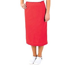 Scrub Skirt By White Swan Uniforms (Red, XXXX-Large) by White Swan Brands