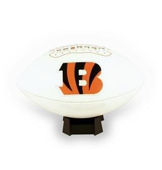 (Creative Sports FB-BENGALS-Signature Cincinnati Bengals Embroidered Logo Signature Series Football)
