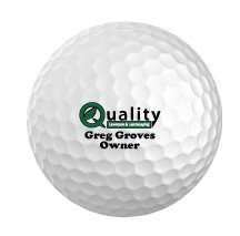 Sleeve of 3 Personalized Golf Balls