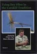 Tying Dry Flies in the Catskill Tradition, Volume 1 featuring David Brandt (Fly tying Tutorial DVD)