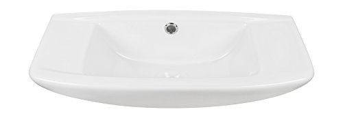 Handwaschbecken scaLma | 50 cm | Weiß | Waschtisch | Gäste-WC