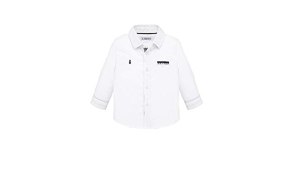 Mayoral, Camisa para bebé niño - 1164, Blanco: Amazon.es: Ropa
