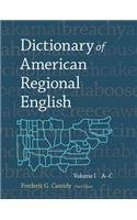 Dictionary of American Regional English, Volume I: Introduction and A-C by Cassidy, Frederic Gomes, Hall, Joan Houston (1985) Hardcover