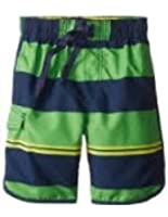 Kanu Surf Swim Trunks Boys Size X-large (18-20) Green/navy