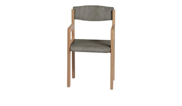 Tmobilier silla Winni hormigón de madera para niños de 8 a ...