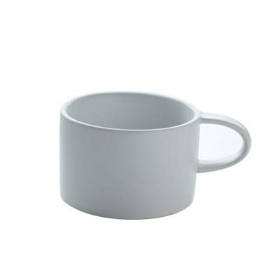MAKEBEIZI Tazas de café Sencillo de para una Vez para de el Personal Taza de café Mate glaseado Mate Hecho a Mano Juego New Bone China 53da27