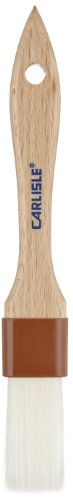 Carlisle 4039500 Sparta 1'' Wide Pastry Brush with Nylon Bristles, 8.25'' Length (Case of 12) by Carlisle