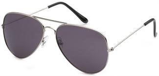 Silver Air Force Aviator - De Moda Lentes