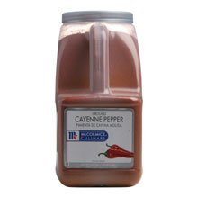 McCormick Ground Cayenne Pepper - 4.5 lb. container, 3 per case