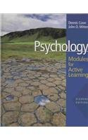 Psychology: Modules for Active Learning with Concept Modules with Note-Taking and Practice Exams