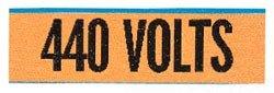 Ideal Industries, Inc. 44-314 440 Volts Conduit Marker (Conduit Marker Cards)
