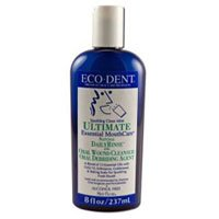 Sparkling Clean Mint (Eco Dent Sparkling Clean Mint Daily Mouth Rinse, 8 Ounce -- 6 per case.)