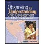 Observing & Understanding Child Development (07) by Ahola, Debra - Kovacik, Abbe [Paperback (2006)]