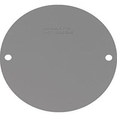 Orbit Industries RBC-4 Powder Coated Stamped Aluminum Weatherproof Round Cover 4 Inch
