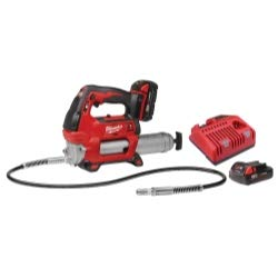 M18 Cordless 2-Speed Grease Gun Kit with 2 Batteries, new