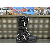 Fox Racing Comp 3 Youth MX Off-Road Riding Boots Black White Size -