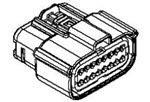 Automotive Connectors MX150 2X4P FEM REC POLAR A W/O CPA (1 piece)