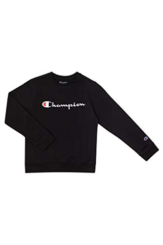 Champion Unisex Heritage Boy and Girls Fleece Pullover Champion Scipt Sweatshirt…