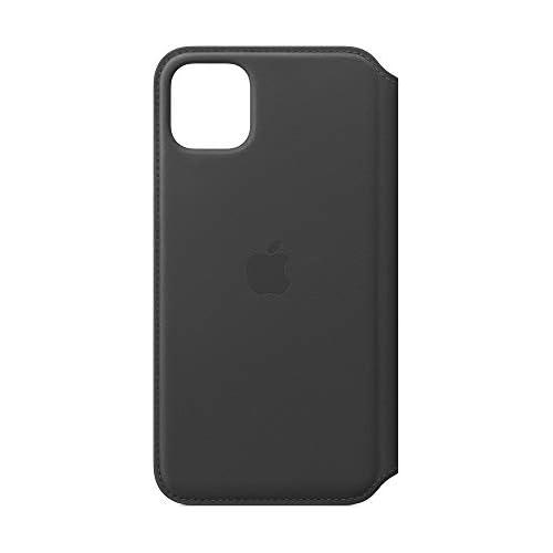 chollos oferta descuentos barato Apple Funda Leather Folio para el iPhone 11 Pro Max en Negro