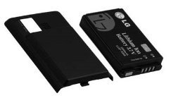 Lg Dare vx9700 Extended Battery and Door Verizon (Lg Dare Vx9700 compare prices)