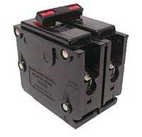 Eaton Corporation Br250 Double Pole Interchangeable Circuit Breaker, 120/240V, 50-Amp
