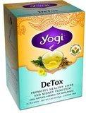 YOGI TEA,OG3,DE-TOX, 16 BAG