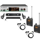 Sennheiser EW 300-2IEM G3 - In-ear Monitoring System - A-Range (516 - 558 MHz) (Solution Monitoring)