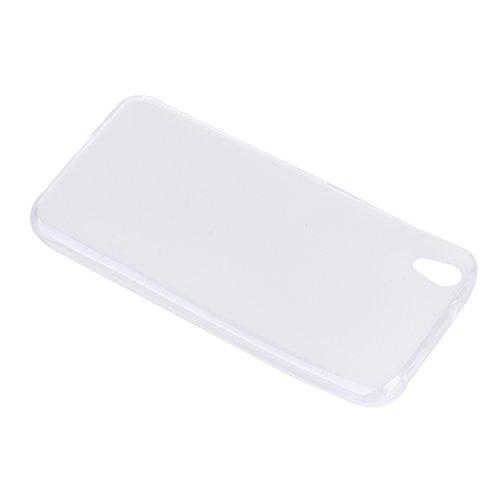 Lusee® Funda de silicona para UMI LONDON Suave Cascara TPU blanco semi transparente