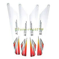 SPARE PARTS 2A 2B BLADES FOR NEW SKYHAWK RC HELICOPTER ( CHECK SECOND PICTURE FOR HELICOPTER )