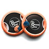 Browns Bank Trampoline Style Paddle Ball Beach Game with Handle | Set of 2
