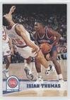 Isiah Thomas Basketball - Isiah Thomas (Basketball Card) 1993-94 NBA Hoops - [Base] #67