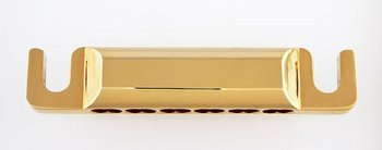 12-Str Stop Tailpiece w/US Studs/Anchors 3-1/4