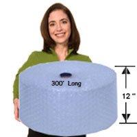 EcoBox Bubble Cushion Wrap 12-Inch Wide x 300-Feet Long, ...