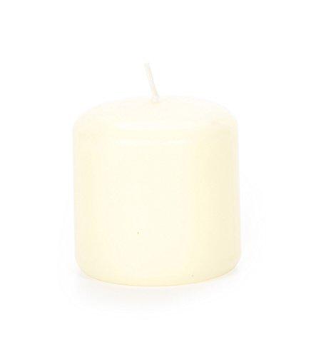 Pillar Candle - Ivory - Vanilla Scented - 2.8 x 2.8 ()