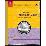 Course Guide : Microsoft Frontpage 2000 -- Illustrated Basic, Barron, Ann, 0619018925