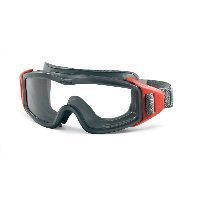 ESS Innerzone 3 Safety Ballistic Structural Fire Goggles Black/Clear 740-0273 by ESS Eyewear by ESS Eyewear