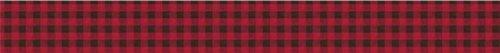 バッファローチェックベッド用フリル付きスカート/ほこり King Size レッド 846477880 B0019N0GRO  King Size