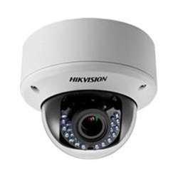 Hikvision DS-2CE56C5T-AVPIR3 Outdoor Analog IR Dome Camera, HD720P, Day/Night, DWDR, Smart IR, UTC Menu, IP66 Standard, 40M to IR, 24VAC/12VDC