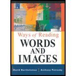 img - for Ways of Reading : Words and Images book / textbook / text book