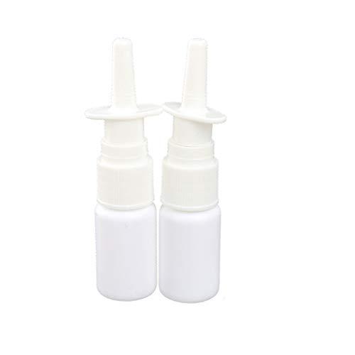 Baoblaze 10ml 15ml 20ml 30ml Refillable Empty Plastic Nasal Fine Mist Spray Bottle Vials Pump Sprayer With Cap for Cosmetic Makeup Perfume etc - 30ml