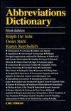 Abbreviations Dictionary, , 0849389445